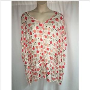Lane Bryant Blouse Dolman Womens Plus Size 18/20